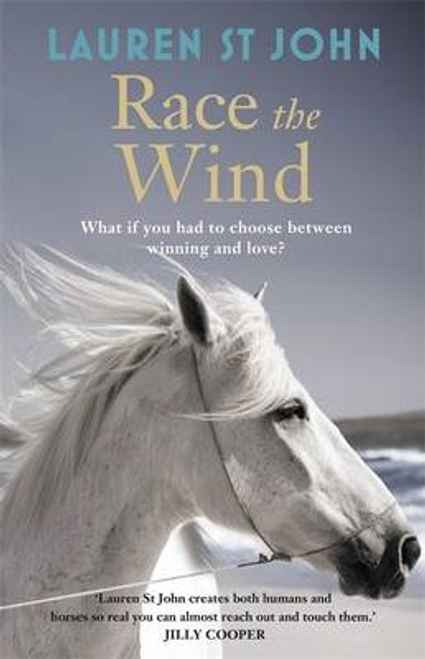 John, Lauren St / Race the Wind (Hardback)