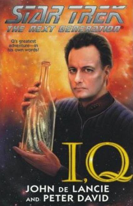De Lancie, John / I, Q (Hardback) - Star Trek