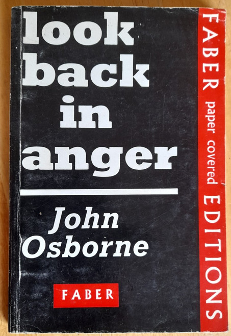 Osborne, John - Look Back in Anger - Vintage Faber PB 1969 ( Originally 1957)