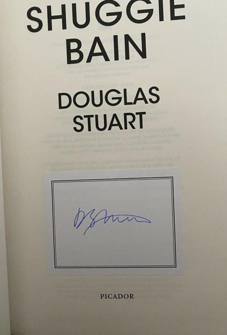 Stuart, Douglas - Shuggie Bain - HB - SIGNED ( Bookplate) - BRAND NEW - Booker Prize Winner 2020