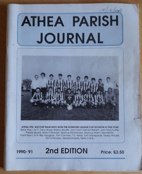 Athea Parish Journal 1990-1991 - ISSUE 2 - Local History Yearbook - West Limerick