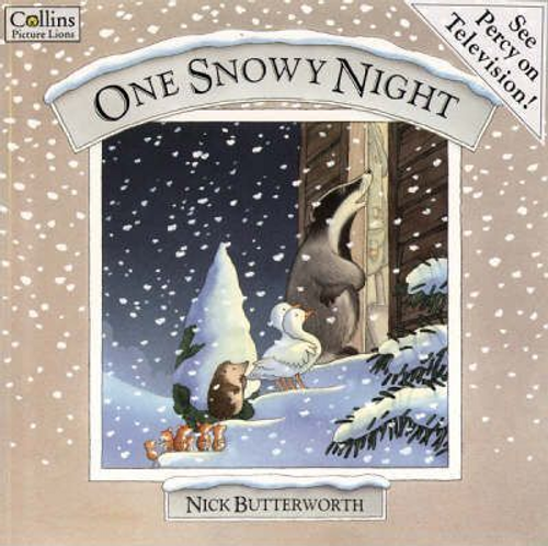 Butterworth, Nick / One Snowy Night (Children's Picture Book)