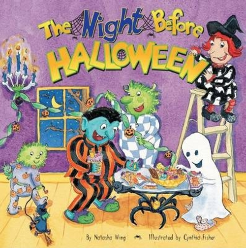 Wing, Natasha / The Night Before Halloween (Children's Picture Book)