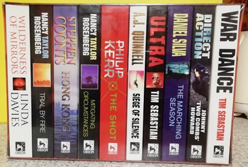 Ten Great Action and Adventure  Books(Action and Adventure Box Set) ( BRAND NEW ) Thrillers