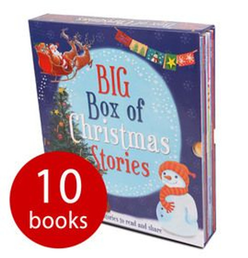 Big Box Of Christmas Stories: Children's Picture books (10 Book Box Set)