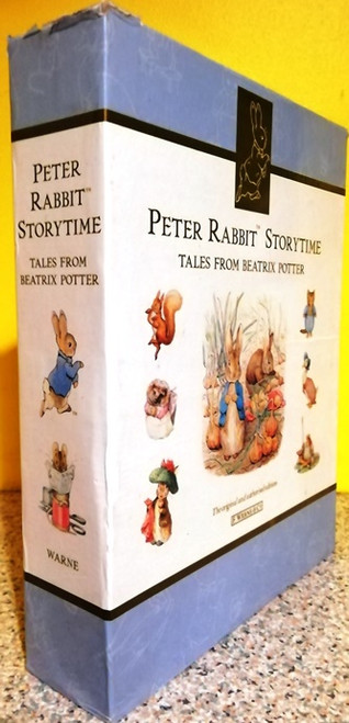 Peter Rabbit Storytime: Tales From Beatrix Potter (Complete 4 Coffee Table Book Box Set)