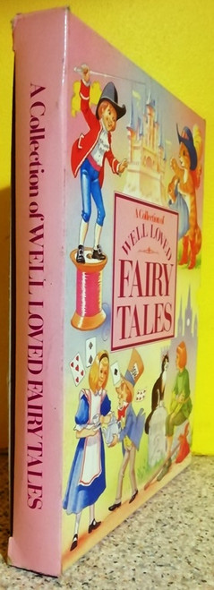 A Collection of Well Loved Fairy Tales (Complete 4 Coffee Table Book Box Set)
