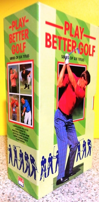 Play Better Golf (Complete 6 Book Box Set)