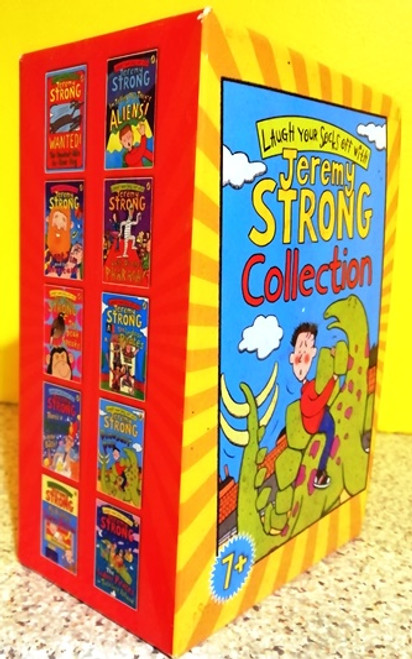 Jeremy Strong: Laugh Your Socks off with (Complete 10 Book Box Set)