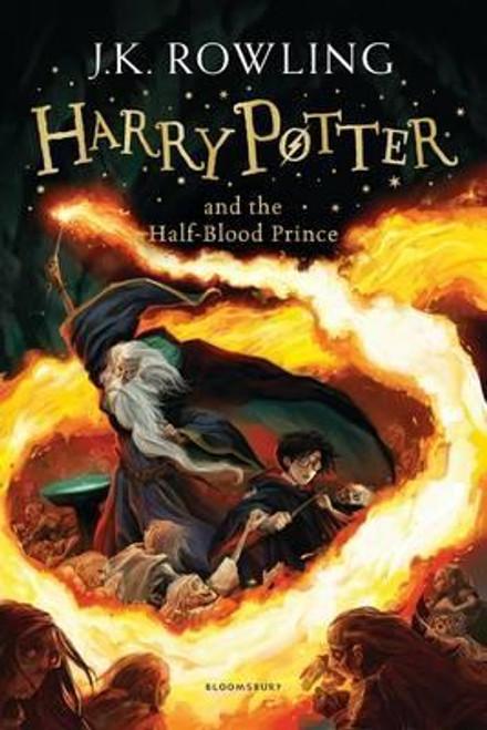 Rowling, J.K / Harry Potter and the Half-Blood Prince (Cover Illustration Jonny Duddle)