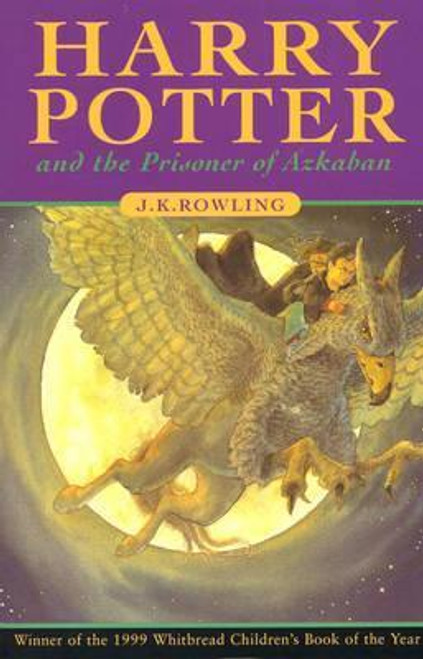 Rowling, J.K / Harry Potter and the Prisoner of Azkaban (Cover Illustration Cliff Wright) Early Printing: Number Line 10 9 8 7 6 5 4 3 2 1