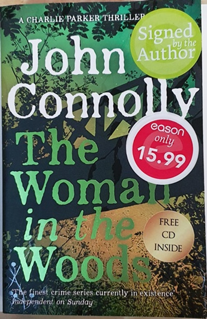 John Connolly / The Woman in the Woods (Signed by the Author) (Large Paperback) (1)