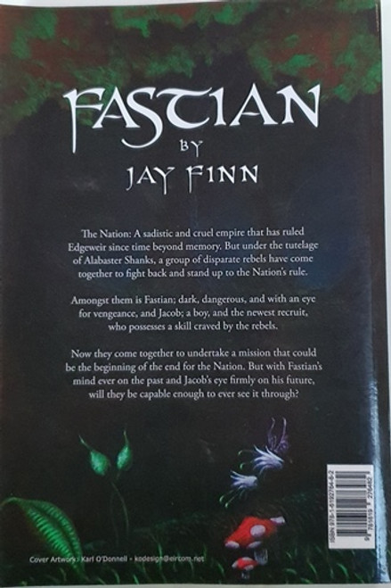 Jay Finn / Fastian (Signed by the Author) (Large Paperback)