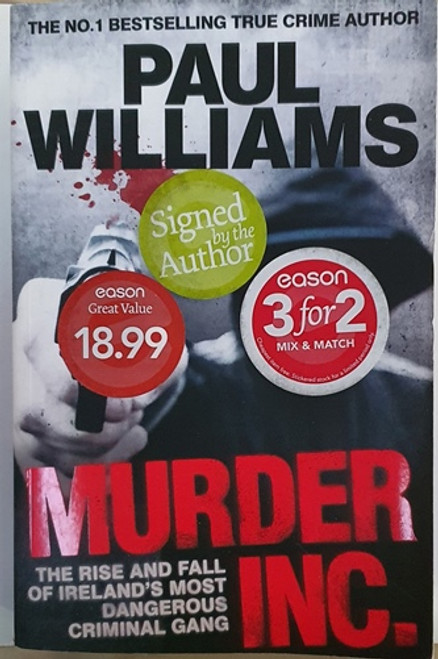 Paul Williams / Murder Inc. (Signed by the Author) (Large Paperback) (2)