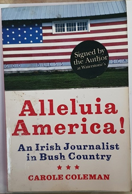 Carole Coleman / Alleluia America (Large Paperback) (Signed by the Author) (1)
