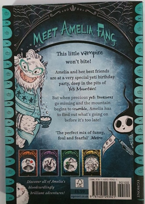 Laura Ellen Anderson / Amelia Fang and the Lost Yeti Treasures (Signed by the Author) (Paperback)