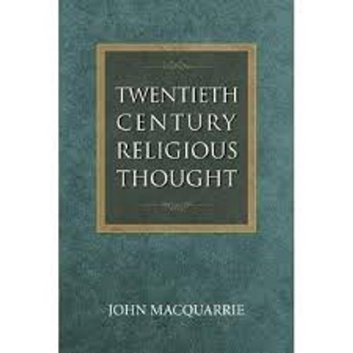 Macquarrie, John / Twentieth-Century Religious Thought (Large Paperback)