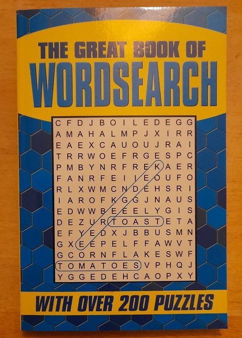 Capella Publishing - The Great Book of Wordsearch - PB - BRAND NEW
