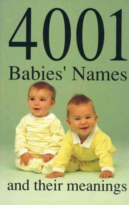 Glennon, James / 4001 Babies' Names and Their Meanings