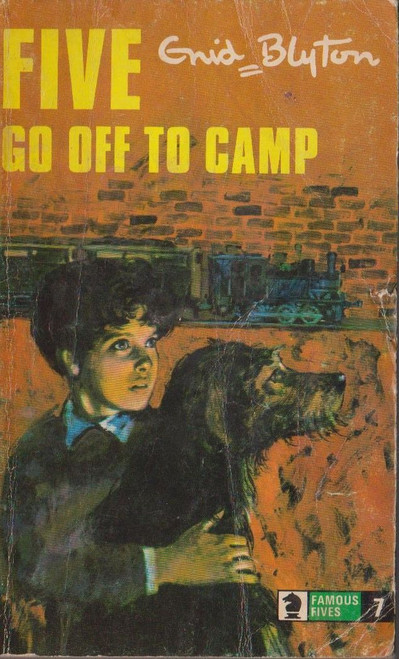 Blyton, Enid / The Famous Five, Five go off to Camp
