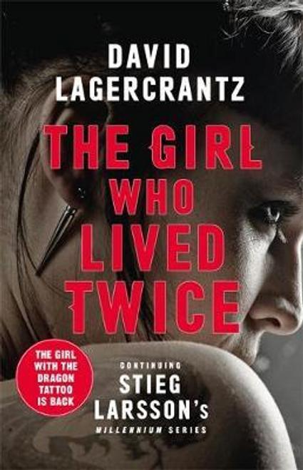 Lagercrantz, David / The Girl Who Lived Twice (Large Paperback)