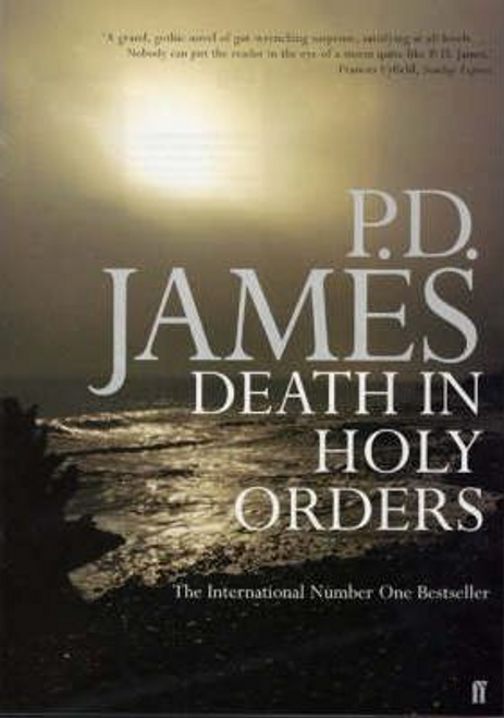 James, P. D. / Death in Holy Orders (Large Paperback)