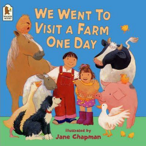 Chapman, Jane / We Went To Visit A Farm One Day (Children's Picture Book)