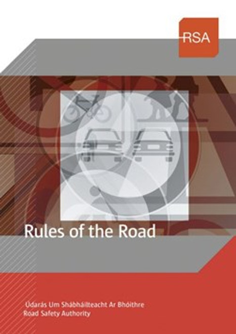 Road Safety Authority  - Rules of the Road - PB - BRAND NEW - 7th Updated Edition
