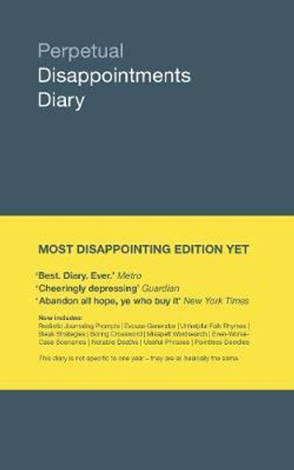 Asbury, Nick - Perpetual Disappointments Diary - HB ( Any Year) - HB - BRAND NEW