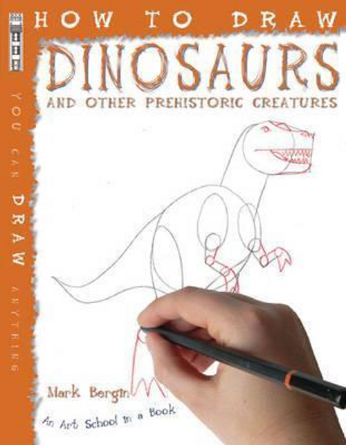 Bergin, Mark / How To Draw Dinosaurs (Children's Picture Book)