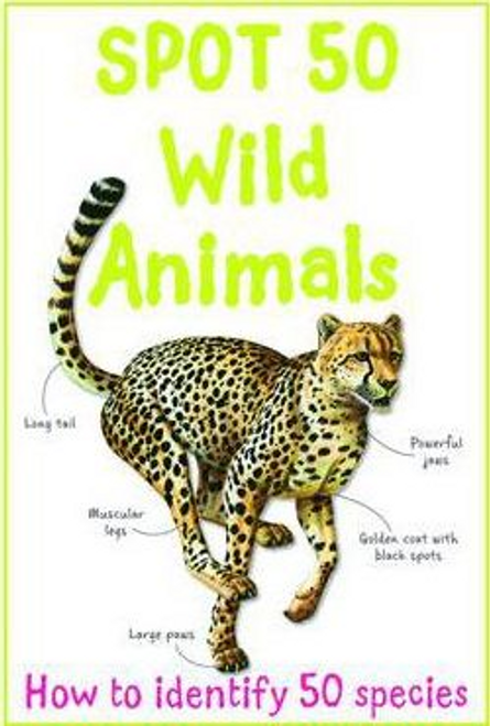 Morgan, Sally / Spot 50 Wild Animals (Children's Picture Book)