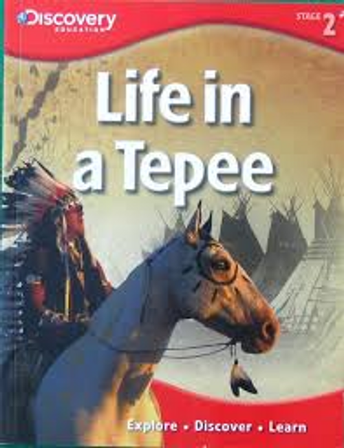 Costain, Meredith / Life in a Tepee (Children's Picture Book)