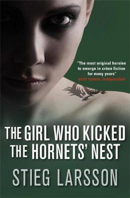 Larsson, Stieg / The Girl Who Kicked the Hornets' Nest (Large Paperback)