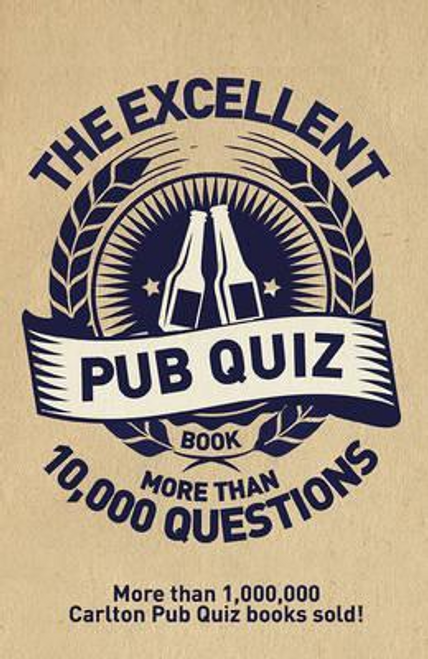 Preston, Roy / The Excellent Pub Quiz Book (Large Paperback)