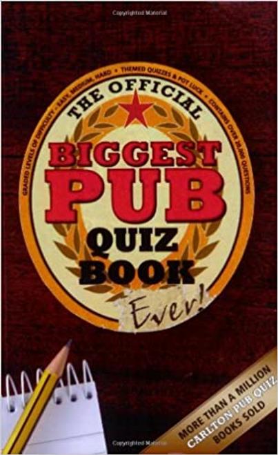 Preston, Roy / Biggest Pub Quiz Book Ever! (Large Paperback)
