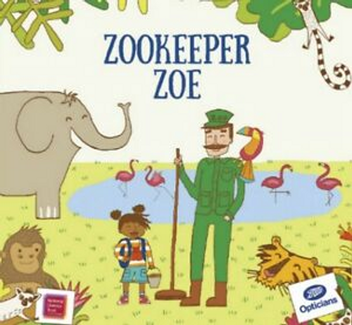 Boots Opticans / Zookeeper Zoe (Children's Picture Book)