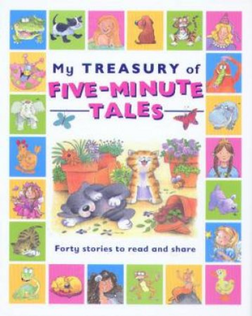My Treasury of Five-minute Tales (Children's Coffee Table)