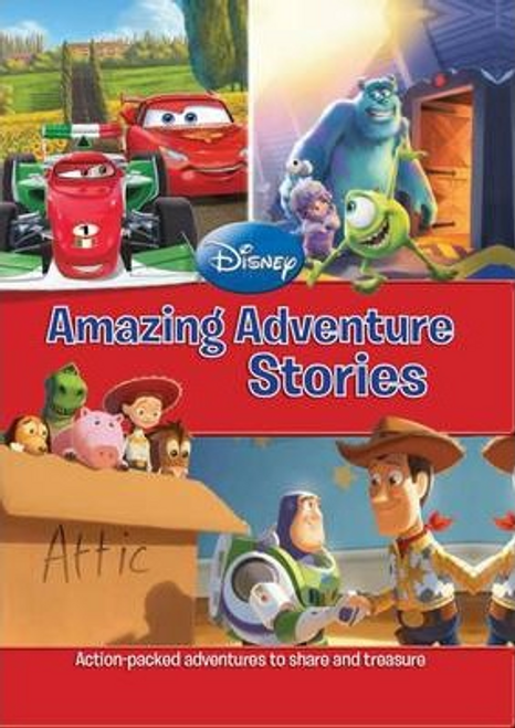 Disney: Amazing Adventure Stories (Children's Coffee Table)