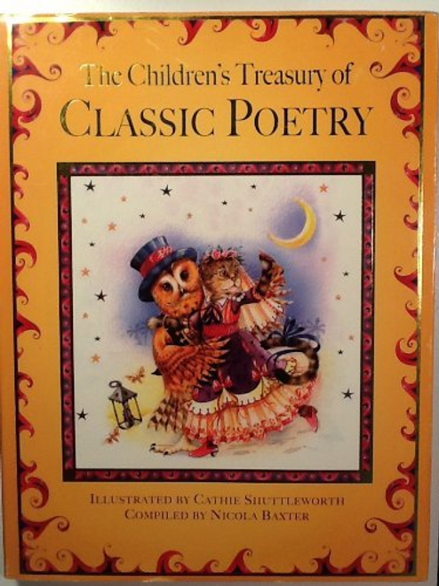 Baxter, Nicola / The Children's Treasury of Classic Poetry (Children's Coffee Table)