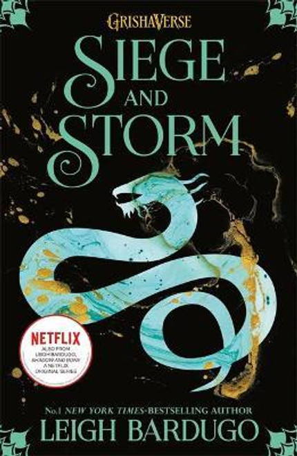 Bardugo, Leigh - Siege and Storm - PB - ( Grishaverse) ( Shadow & Bone Trilogy - Book 2 ) BRAND NEW