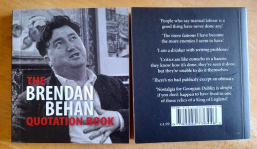 Russell, Andrew ( Editor) - Brendan Behan Quotation Book - PB - BRAND NEW - Somerville Press