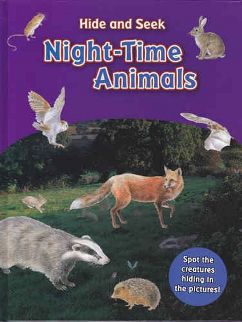 Hide And Seek Night Time Animals (Children's Coffee Table)