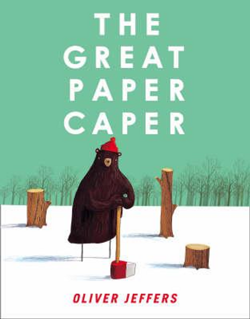 Jeffers, Oliver / The Great Paper Caper (Children's Coffee Table)