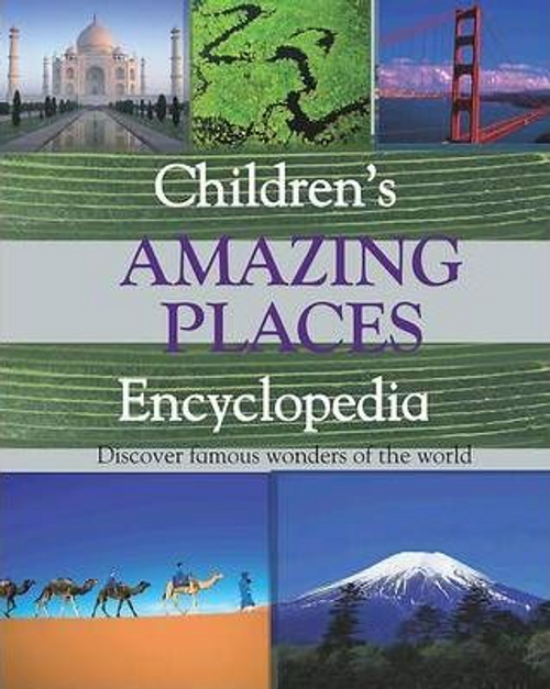 Reference 8+ : Amazing Places (Children's Coffee Table)
