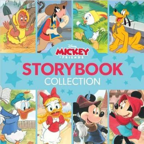 Disney: Mickey and Friends Fairy Tales Storybook Collection (Children's Coffee Table)