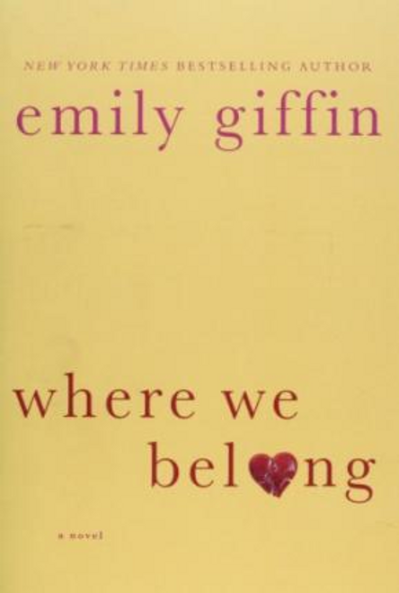 Griffin, Emily / Where We Belong (Large Paperback)