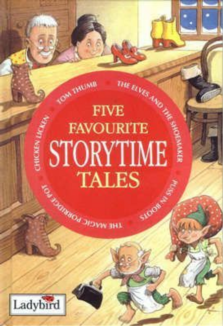 Five Favourite Storytime Tales (Hardback)