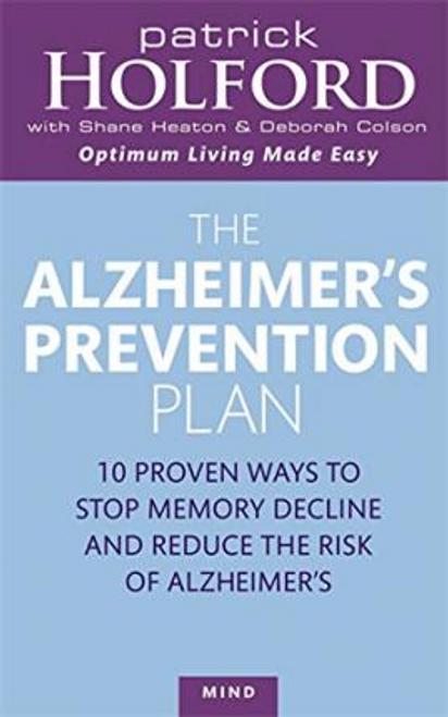 Holford, Patrick / The Alzheimer's Prevention Plan (Large Paperback)