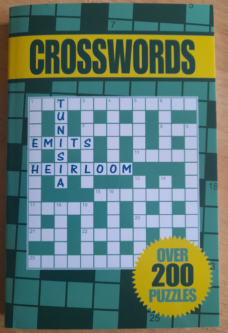 Capella - Crosswords Puzzle Book - PB - 200 Puzzles - BRAND NEW