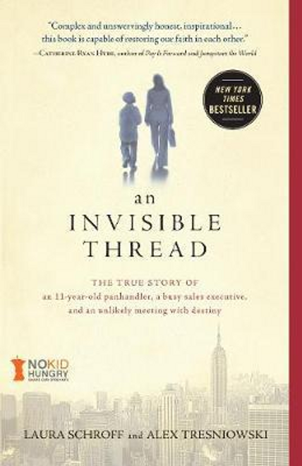 Schroff, Laura / An Invisible Thread (Large Paperback)